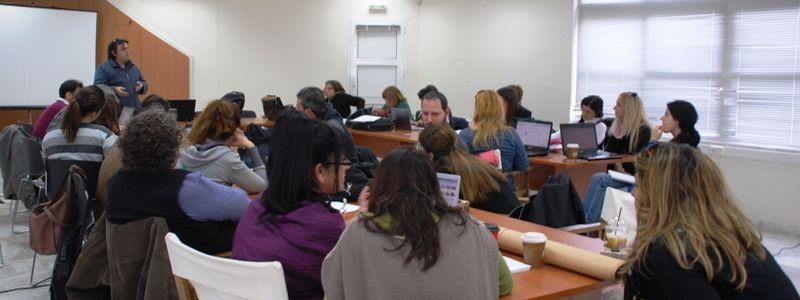 Vom Lehren zum Lernen/Από τη διδασκαλία στη μάθηση | ©Goethe-Zentrum Chania
